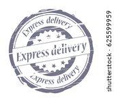 express delivery grunge stamp.   Shutterstock . vector #625599959