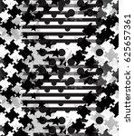 abstract seamless pattern... | Shutterstock . vector #625657361
