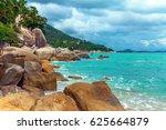 beautiful nature of koh samui...   Shutterstock . vector #625664879