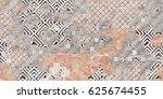 wall   floor tiles design... | Shutterstock . vector #625674455