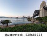 sunrise over sydney harbour... | Shutterstock . vector #625689335