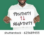 emotional choices positivity... | Shutterstock . vector #625689455