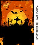 grunge halloween night... | Shutterstock . vector #62570092