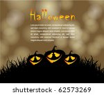 halloween poster | Shutterstock .eps vector #62573269