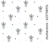 vector background with koalas   ... | Shutterstock .eps vector #625748951