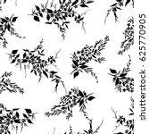 tiny flowers seamless pattern ... | Shutterstock .eps vector #625770905