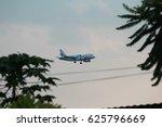 Small photo of THAILAND, CHIANGMAI, April, 20, 2017, Bangkok Airway Landing