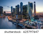 Futuristic View Of The Moscow...