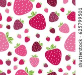 summer seamless pattern with... | Shutterstock .eps vector #625799501