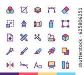 design   tools minimalist and...   Shutterstock .eps vector #625806251