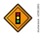 semaphore traffic light... | Shutterstock .eps vector #625811801