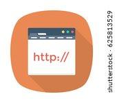 website url | Shutterstock .eps vector #625813529