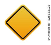 under construction road sign | Shutterstock .eps vector #625832129