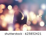 crowd  happy people enjoying...   Shutterstock . vector #625852421