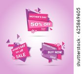 shopping sale happy mother day... | Shutterstock .eps vector #625869605