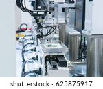 robotic arm machine tool at... | Shutterstock . vector #625875917