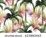 beautiful seamless vector... | Shutterstock .eps vector #625883465