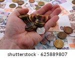 czech money texture as nice... | Shutterstock . vector #625889807