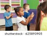 children dancing in... | Shutterstock . vector #625893905