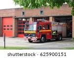 British Fire Engines. Surrey...