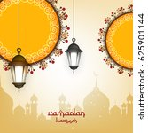 ramadan kareem wallpaper design ... | Shutterstock .eps vector #625901144