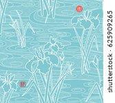 seamless vector background in...   Shutterstock .eps vector #625909265