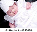 a portrait of a baby girl in a... | Shutterstock . vector #6259420