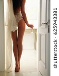 sexy young woman in white... | Shutterstock . vector #625943381