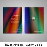 brochure flyer layouts with... | Shutterstock .eps vector #625943651