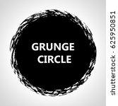 grunge circle. | Shutterstock .eps vector #625950851