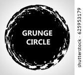 grunge circle. | Shutterstock .eps vector #625953179