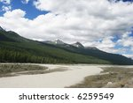 mountain peaks in banff... | Shutterstock . vector #6259549