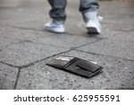 man walking after losing his... | Shutterstock . vector #625955591