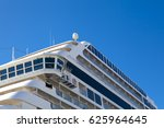 side angle view on large cruise ... | Shutterstock . vector #625964645