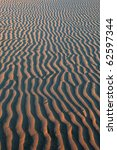 sand ripples texture with warm... | Shutterstock . vector #62597344