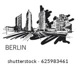 berlin vector illustration | Shutterstock .eps vector #625983461
