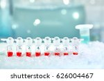 tubes for dna amplification by...   Shutterstock . vector #626004467