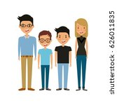 young people design | Shutterstock .eps vector #626011835