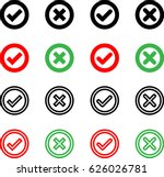 check mark icon  raster... | Shutterstock . vector #626026781