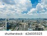 thailand city view | Shutterstock . vector #626035325