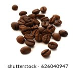 coffee beans isolated   Shutterstock . vector #626040947