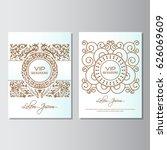 invitation background flyer... | Shutterstock .eps vector #626069609