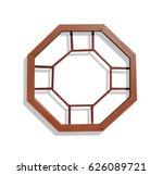 Closeup Of Chinese Hexagon...