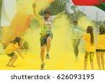 color me run in hanoi  vietnam... | Shutterstock . vector #626093195