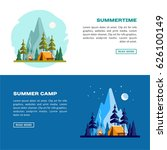 summer time. day and night... | Shutterstock .eps vector #626100149