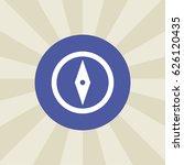 compass icon. sign design....