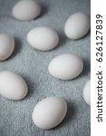 chicken eggs on a fiber   Shutterstock . vector #626127839