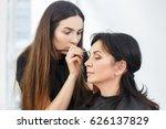 professional makeup artist...   Shutterstock . vector #626137829