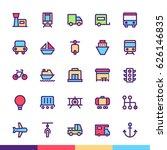 transport minimalist and modern ...   Shutterstock .eps vector #626146835