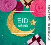 ramadan kareem illustration... | Shutterstock .eps vector #626169389